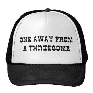 THREESOME TRUCKER HAT