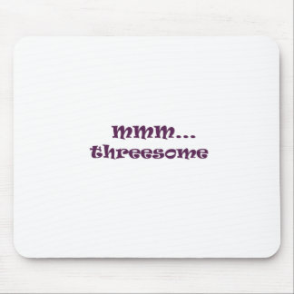threesome mouse pad
