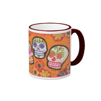 ThreeSugarSkulls Ringer Mug