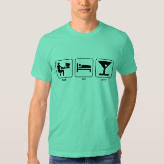 ¡Threetie-camiseta! Playera