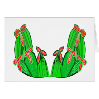 Threme Green - Exotic CACTUS Flowers Cards