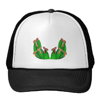 Threme Green - Exotic CACTUS Flowers Hat