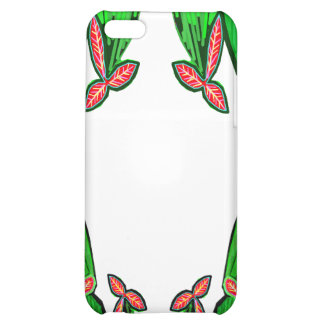 Threme Green - Exotic CACTUS Flowers Cover For iPhone 5C