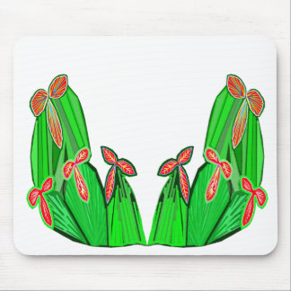 Threme Green - Exotic CACTUS Flowers Mousepad