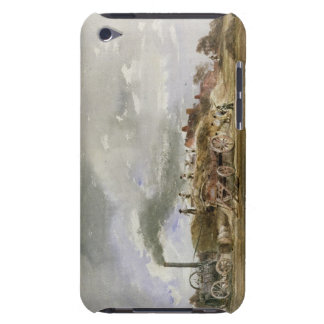 Threshing Corn (pencil & w/c on paper) Case-Mate iPod Touch Case