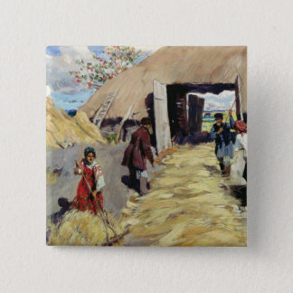 Threshing Floor, 1916 Button