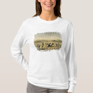 Threshing Wheat in Algeria, 1853 T-Shirt