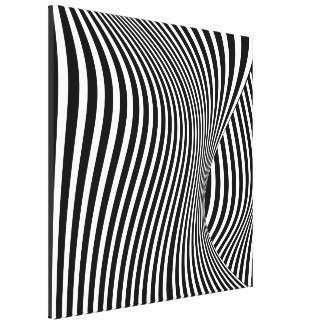 Threshold  -- Op Art Canvas Print