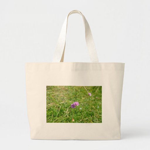 Thrift, Sea Pink Tote Bags