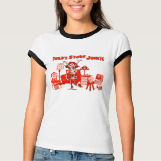 Thrift Store Junkie T-shirt