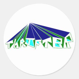 Thrifter Whoosh Sticker