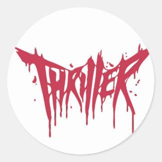 Thril Sticker