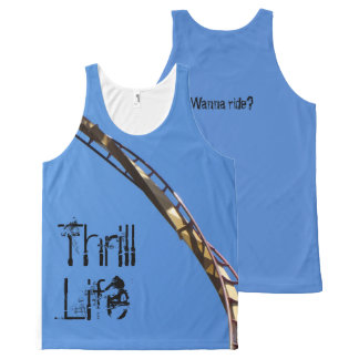 Thrill Life All-Over Print Tank Top