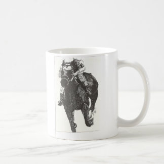 Thrill of Horse Raceing Coffee Mugs