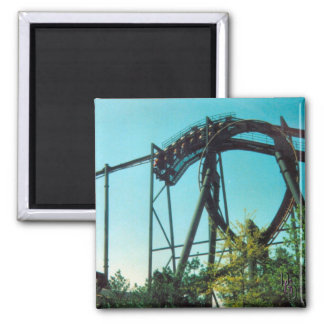 Thrill Ride 2 Inch Square Magnet
