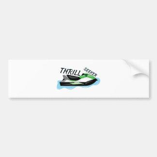 Thrill Seeker Bumper Stickers