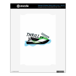 Thrill Seeker Decal For NOOK