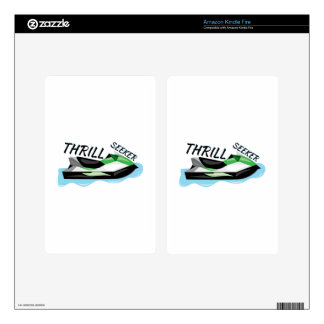 Thrill Seeker Decal For Kindle Fire