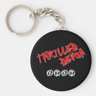 Thrilled Devon Keyring - Black Keychain