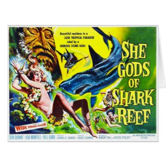 Thriller Movie Poster 1958 Card