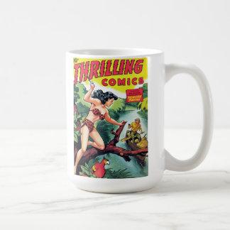 """Thrilling Comics #67"" Coffee Mug"