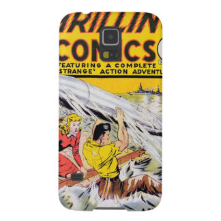 Thrilling Comics #6 Galaxy S5 Cover