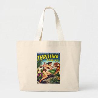 Thrilling Comics #71 Jumbo Tote Bag