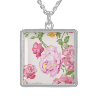 Thrilling Enchanting Classic Success Square Pendant Necklace