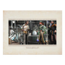 """Thrilling Tales:Rognvald's Laboratory (24x18"""") Poster"""