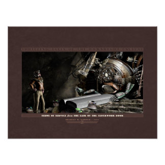 """Thrilling Tales: Terms of Service (24x18"""") Poster"""