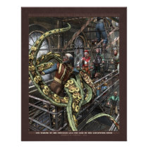 Thrilling Tales: Terror of the Tentacles (22x28