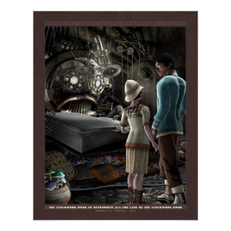 "Thrilling Tales: The Clockwork Book (22x28"") Poster"