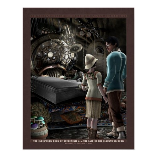 Thrilling Tales: The Clockwork Book (22x28