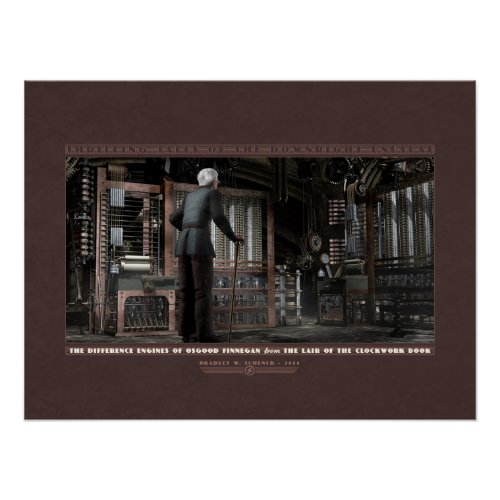 Thrilling Tales: The Difference Engines (24x18