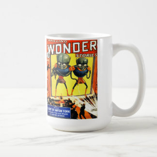 THRILLING WONDER Cool Vintage Pulp Magazine Cover Coffee Mug