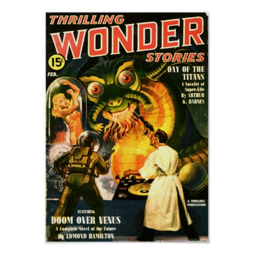 Thrilling Wonder Stories -- Day of the Titans