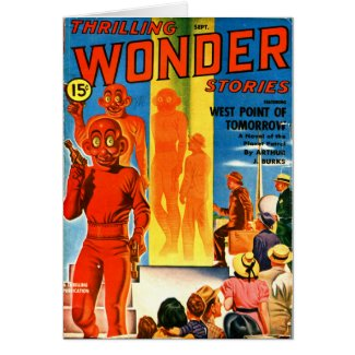 Thrilling Wonder Stories -- Future Westpoint Card