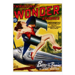 Thrilling Wonder Stories - Undermost Card