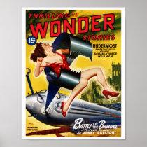 Thrilling Wonder Stories - Undermost Poster
