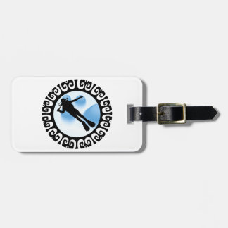THRILLS FROM DIVING BAG TAG