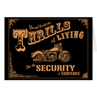 Thrills of Living II Card