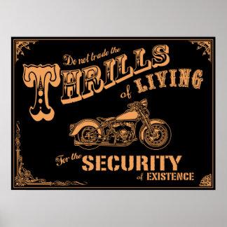 Thrills of Living II Poster