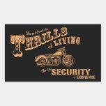 Thrills of Living II Sticker