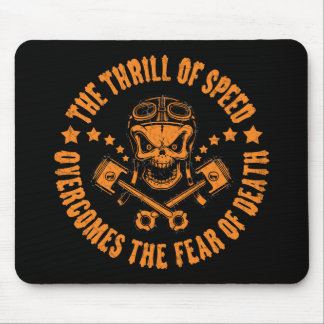 Thrills Overcome Fear Mouse Pad