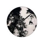Thrillseeker Photo Design Wall Clock
