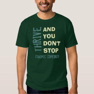 THRIVE 2012 Economic Comeback T-Shirt (Green)