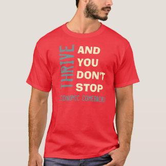 THRIVE 2012 Economic Comeback T-Shirt (Red)