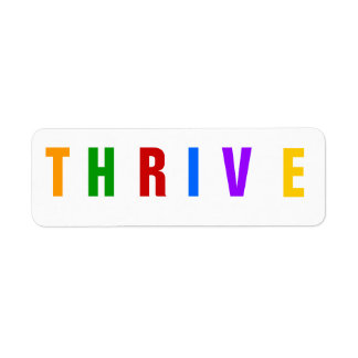 Thrive Freeze Dried Food label