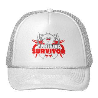 Thriving Retinoblastoma Cancer Survivor Mesh Hat