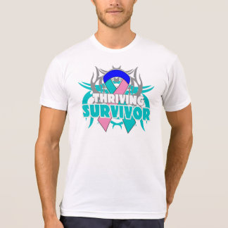 Thriving Thyroid Cancer Survivor Tee Shirts